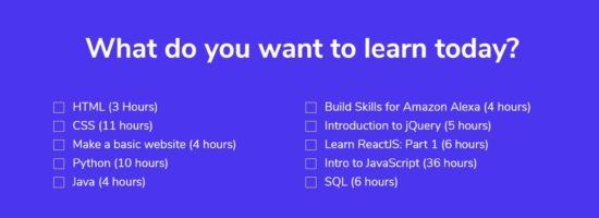 Bonnes résolutions 2018 : des cours de code gratuits avec Codecademy