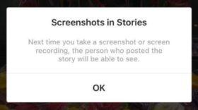 Instagram : vous pourrez bientôt savoir qui a fait des screenshots de vos stories