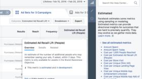 Facebook va rendre les indicateurs du business manager (un peu) plus clairs