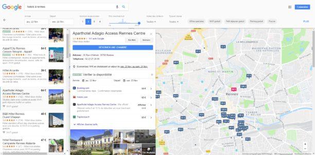 Google veut redevenir le moteur de recherche des h tels for Moteur hotel