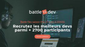 La Battle Dev, un événement efficace pour recruter des développeurs