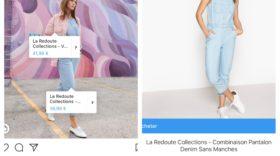 Instagram déploie le format shopping en France : les marques peuvent identifier et vendre des produits dans un post
