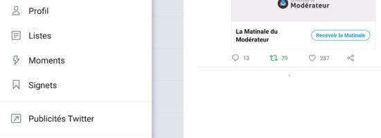 Twitter lance les Signets pour sauvegarder des tweets