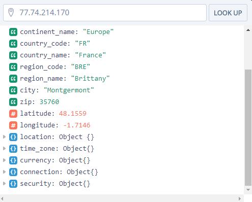 ipstack : un outil pour géolocaliser les visiteurs de votre site grâce à leur adresse IP