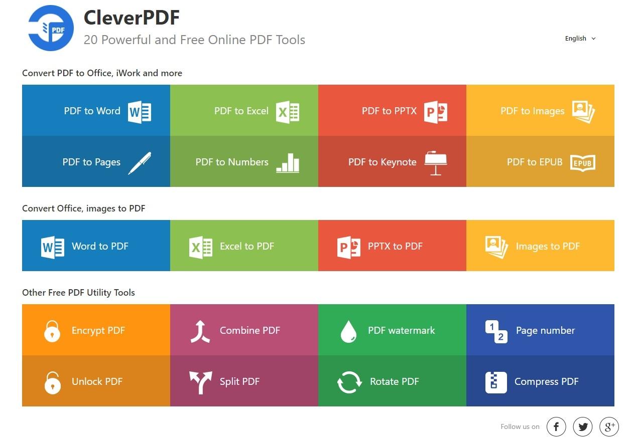 Cleverpdf une suite d 39 outils compl te et gratuite pour - Convertir fichier pdf en open office gratuit ...