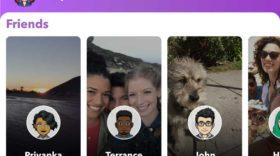 Snapchat : les stories à droite de l'application, comme avant ?