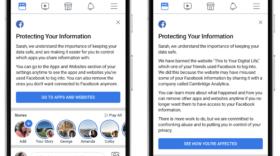 Facebook prend 9 mesures pour réduire l'accès aux données personnelles