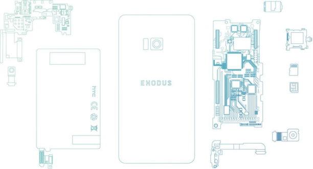 HTC dévoile Exodus, son smartphone dédié à la blockchain