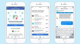Facebook étend son Marketplace aux artisans et services à domicile