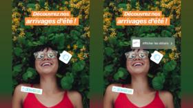 Instagram lance sa fonctionnalité de shopping dans les Stories