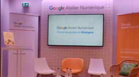 Google inaugure son premier atelier numérique physique à Rennes