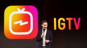 Instagram lance IGTV, une plateforme de vidéos verticales et long format