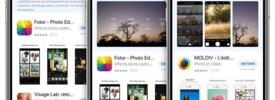 Les publicités pour le téléchargement d'applications enfin disponibles dans l'App Store français