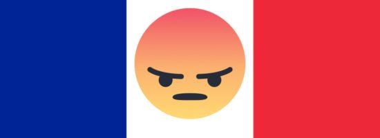 La France, deuxième pays le plus énervé sur Facebook après la Corée du Sud