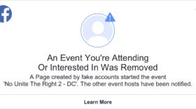 Facebook révèle au grand jour une nouvelle tentative de manipulation politique