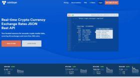 Coinlayer : une API professionnelle pour connaître les cours en temps réel de 385 cryptomonnaies sur 25 échanges