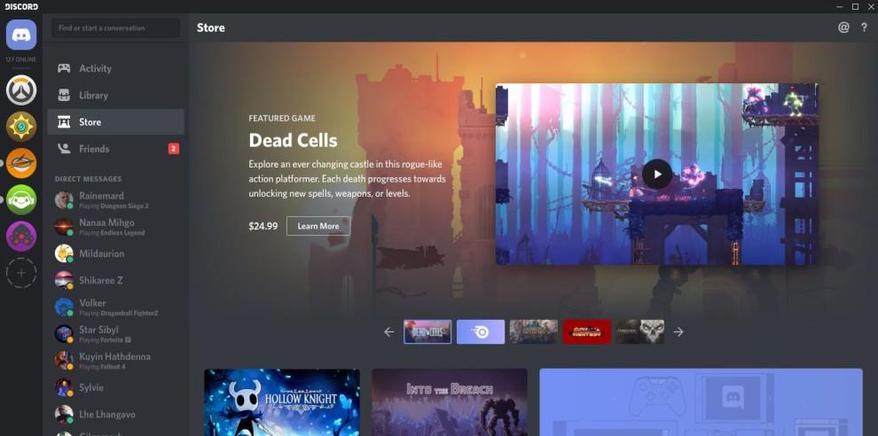 discord lance sa propre plateforme de vente de jeux vid o bdm. Black Bedroom Furniture Sets. Home Design Ideas