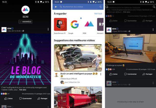 La plateforme vidéo Facebook est disponible partout dans le monde