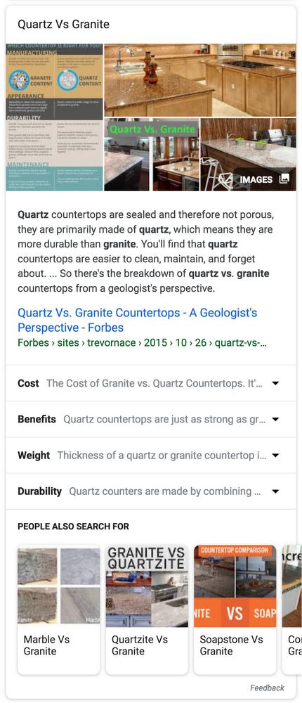 Google va intégrer des extraits thématiques de sites web dans ses résultats de recherche