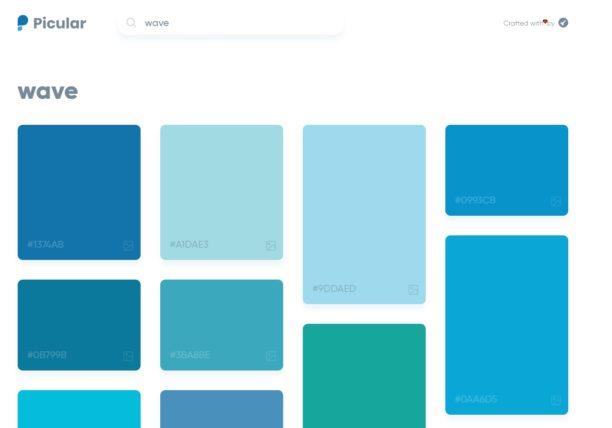 Picular : le Google des couleurs   BDM