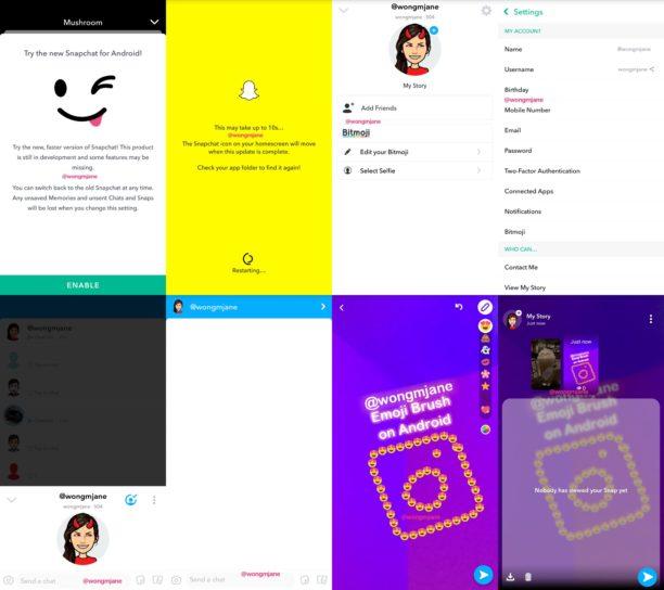 snapchat la nouvelle application android plus performante arrive enfin blog du mod rateur. Black Bedroom Furniture Sets. Home Design Ideas
