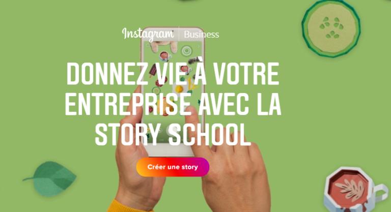 Instagram lance la « story school », pour apprendre aux entreprises à utiliser les stories