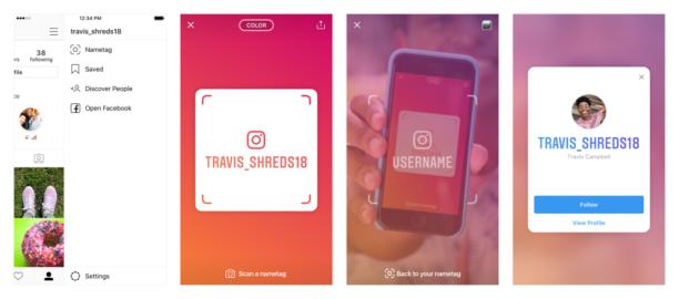 Pour Essayer Cette Fonctionnalite Accedez A Votre Profil Et Cliquez Sur Les Trois Petits Points Du Menu Instagram Vous Affichera Un Petit Message