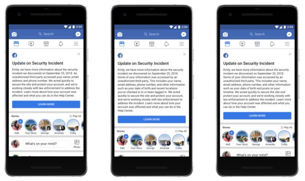 29 millions de comptes ont bien été touchés — Piratage de Facebook