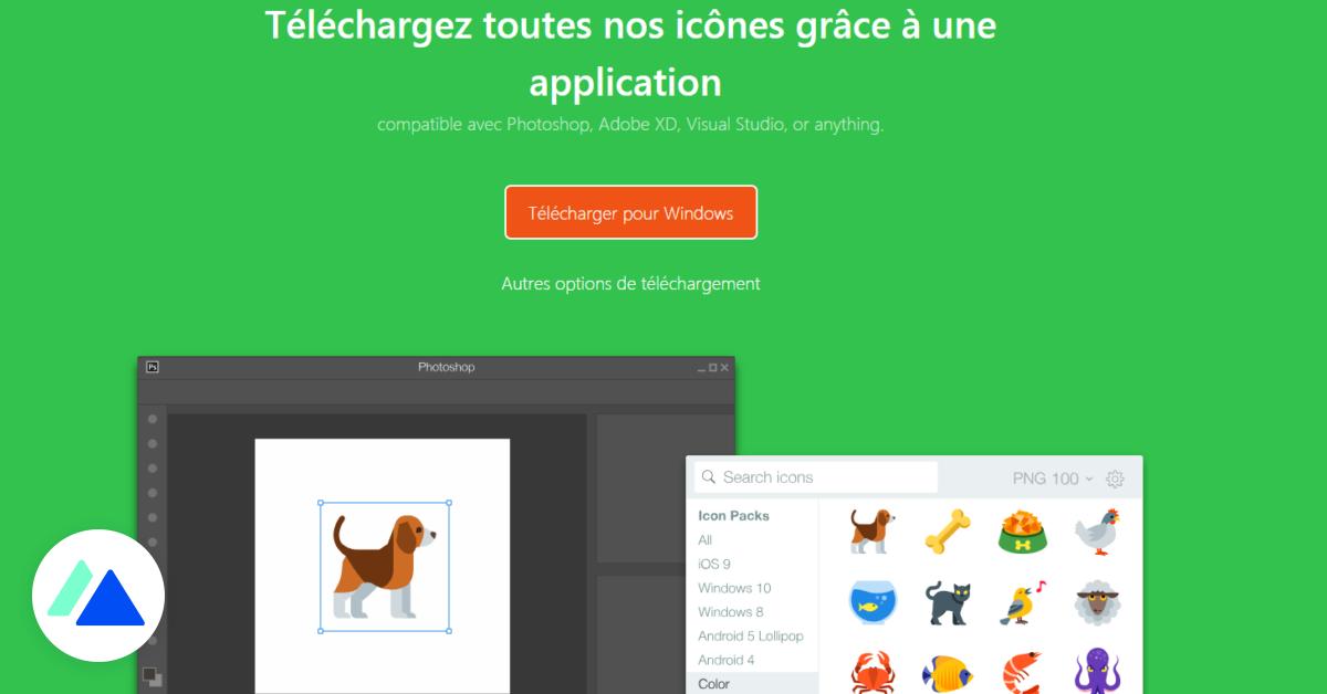 Icons8 : un moteur de recherche pour télécharger des icônes gratuites - BDM