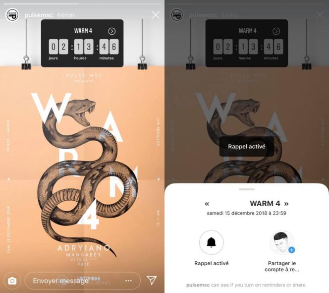 Instagram Vous Pouvez Ajouter Un Compte A Rebours Dans Vos Stories Bdm