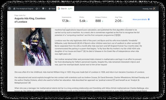 Google Site Kit : un plugin WordPress conçu pour retrouver les données Analytics, Search Console et autres