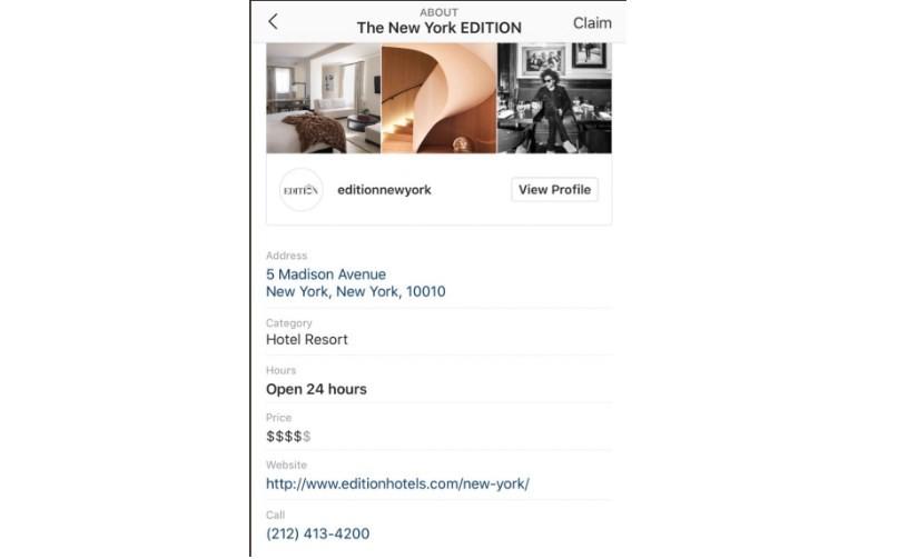 instagram   des pages business pour mettre en avant les entreprises locales
