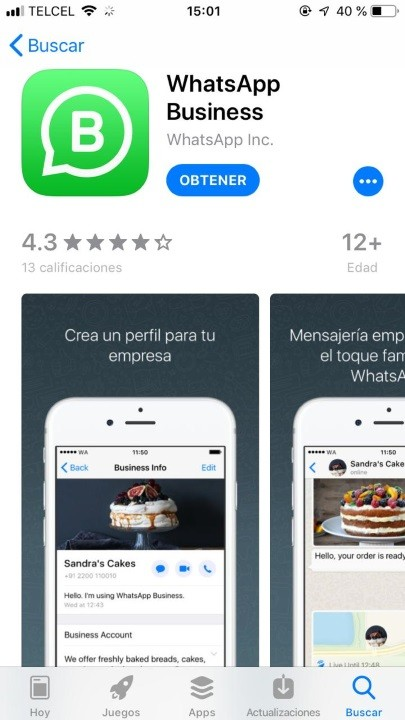 WhatsApp Business arrive enfin sur iOS… au Mexique