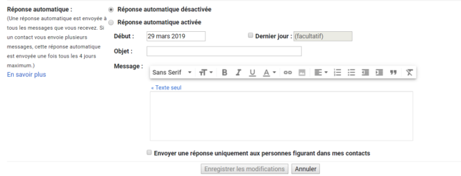 exemple de message en ligne datant
