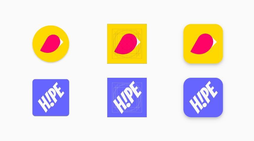 Google Play : un guide pour concevoir les nouvelles icônes