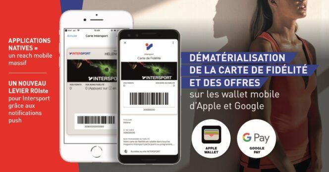 application pour carte de fidelité Les cartes de fidélité dématérialisées dans un wallet mobile : une