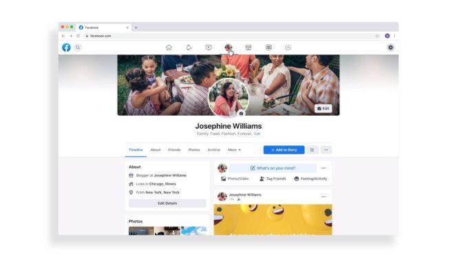 Facebook Neues Design