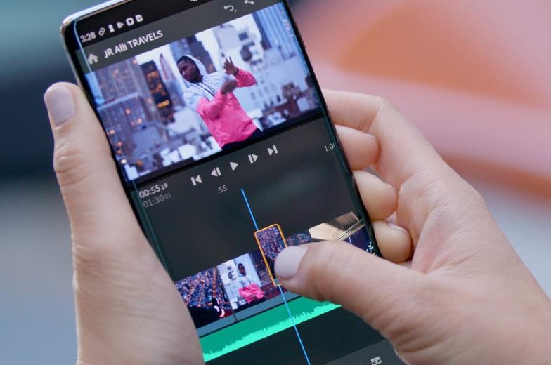 Adobe Premiere Rush débarque enfin sur Android