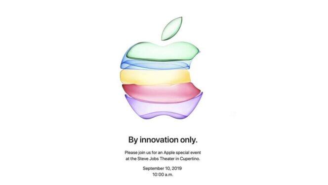 Apple donne RDV le 10 septembre pour sa keynote — Officiel