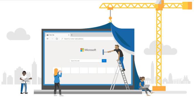Le Microsoft Edge nouveau est arrivé ! Crédits: Microsoft