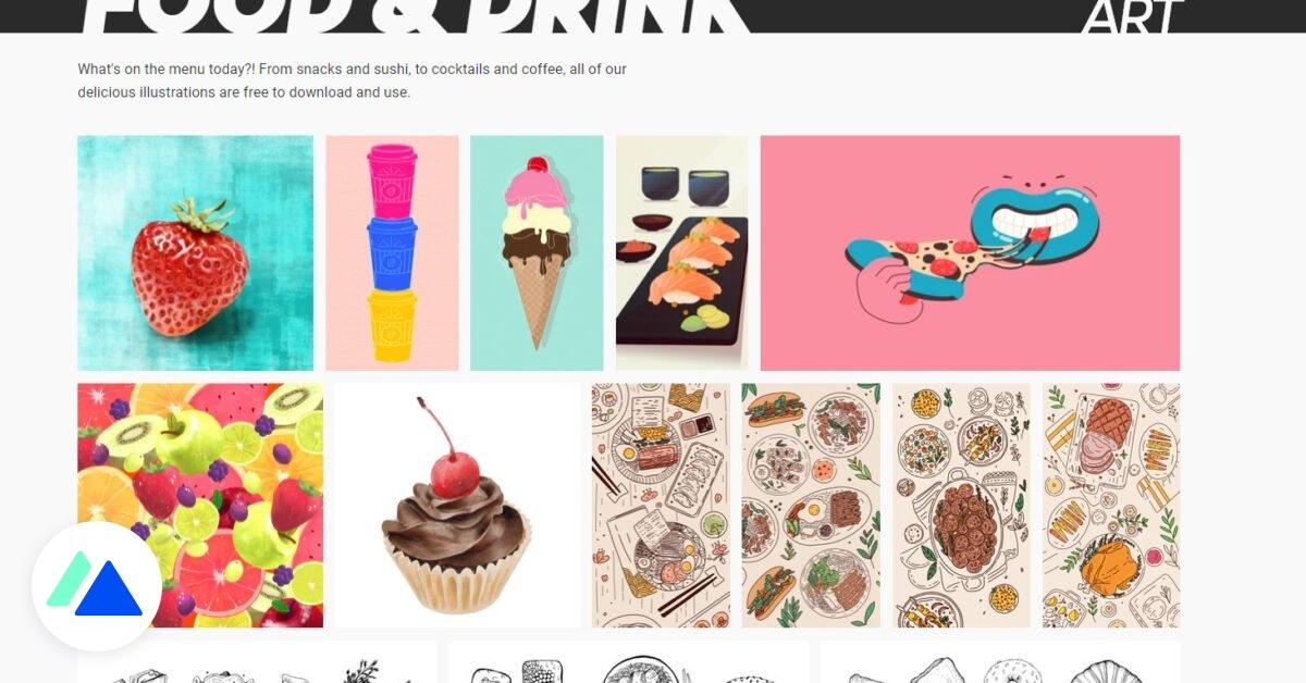 Mixkit Art : des centaines d'illustrations libres de droit