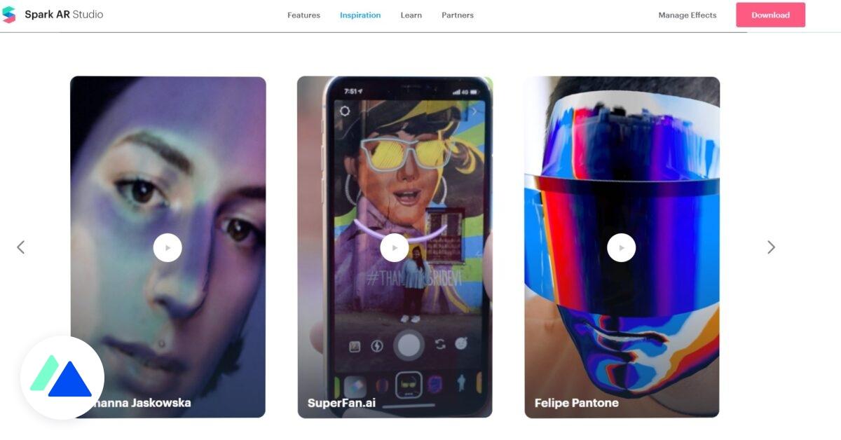 Instagram : Spark AR, la plateforme de création de filtres ouverte à tous