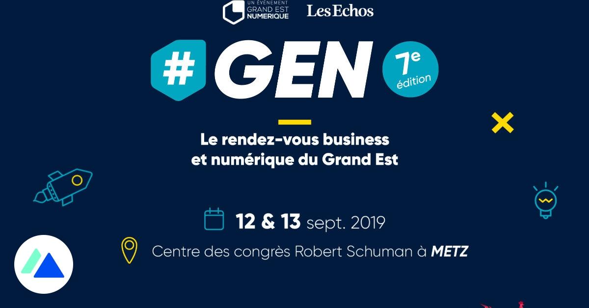 GEN : le rendez-vous business et numérique du Grand Est, les 12 et 13 septembre à Metz