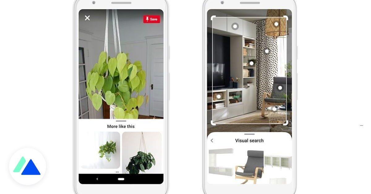 Pinterest améliore Lens, son outil de recherche visuelle