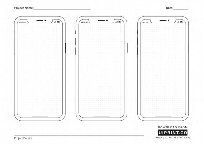 Ui Print Des Modeles A Imprimer Pour Concevoir Des Interfaces Mobiles Ou Web Sur Papier Bdm