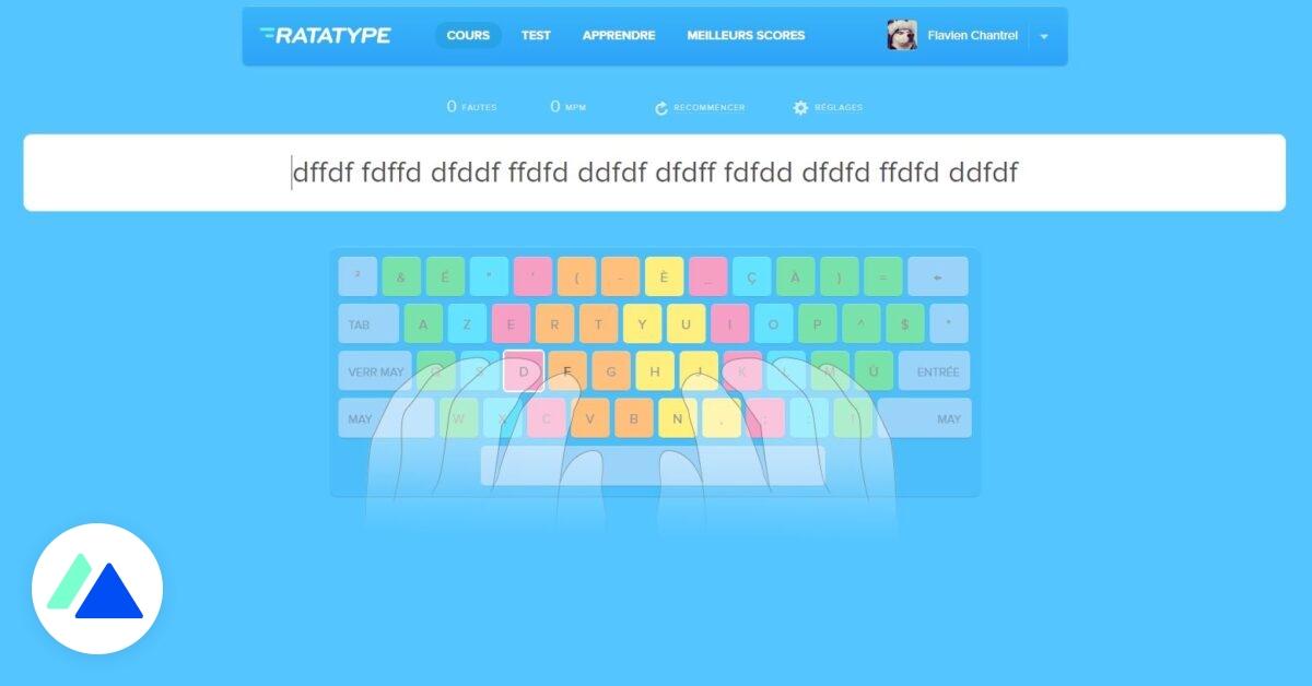 Ratatype : un outil gratuit pour tester et améliorer votre vitesse de frappe au clavier