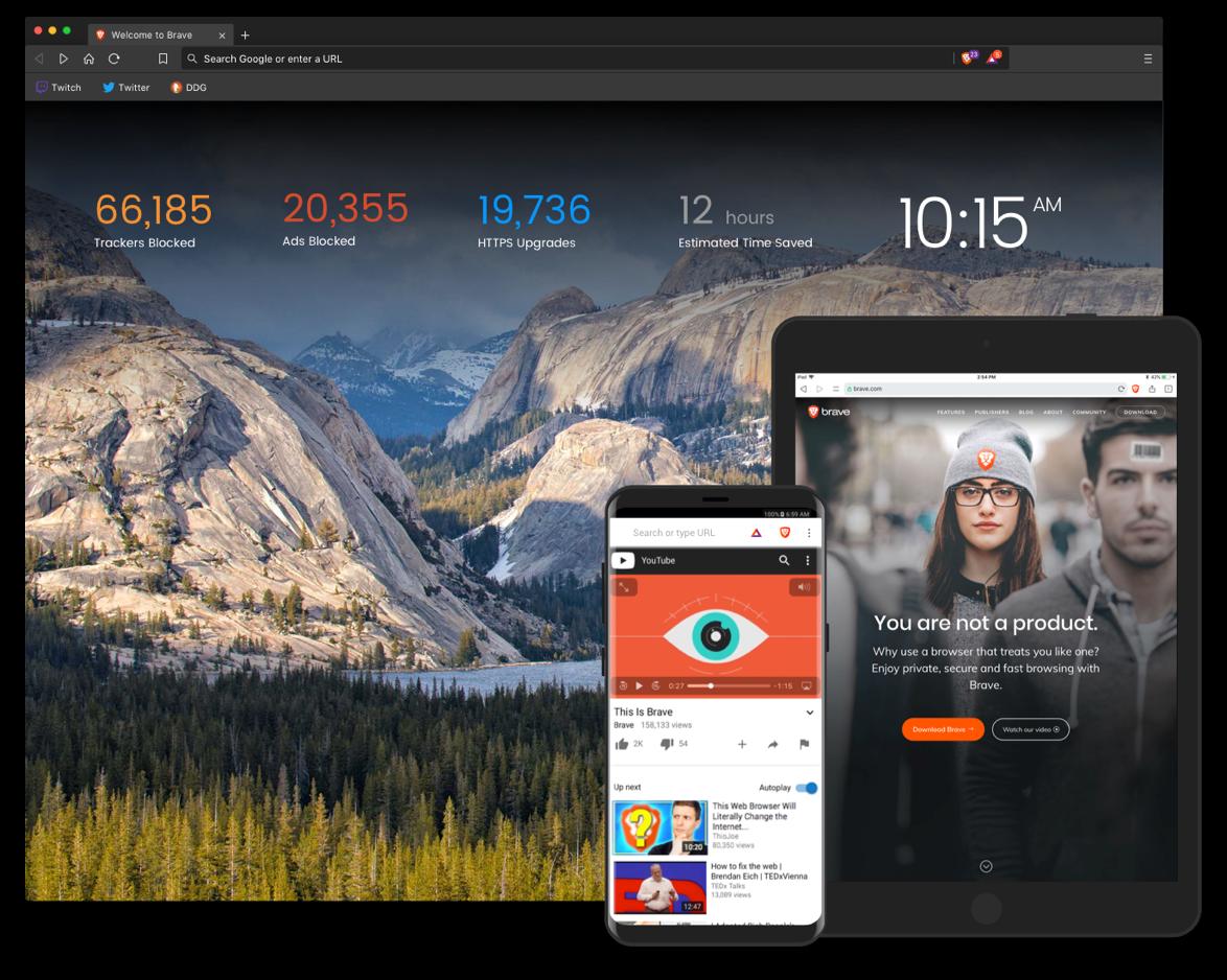Lancement officiel de Brave : le navigateur qui rémunère les utilisateurs et respecte votre vie privée