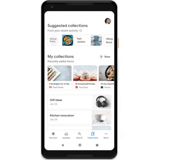 Google Collections Des Tendances Et Des Suggestions De Recherche Sur Mobile Bdm
