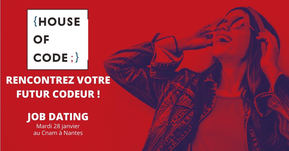 Recrutez un développeur en alternance à Nantes en participant au job dating du Cnam le 28 janvier
