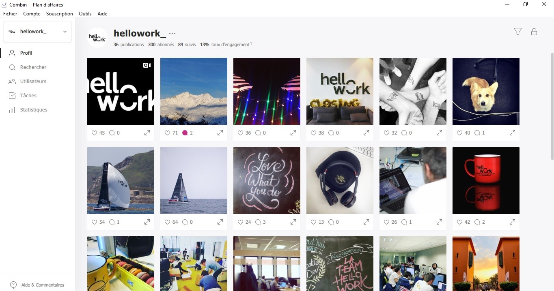Combin : un outil idéal pour développer vos comptes sur Instagram et planifier vos publications - BDM